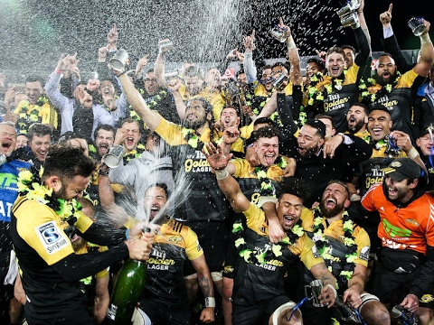 Hurricanes 2016 Super Rugby Champions |