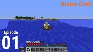 BiomeCraft  S1: Episode 1 - Mining and Planing!