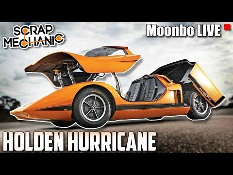 Building A 1969 Holden Hurricane Sports Car Moonbo Live Scrap
