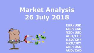 Forex Trading Analysis 26 July 2018 + Analysis of Previous Trades