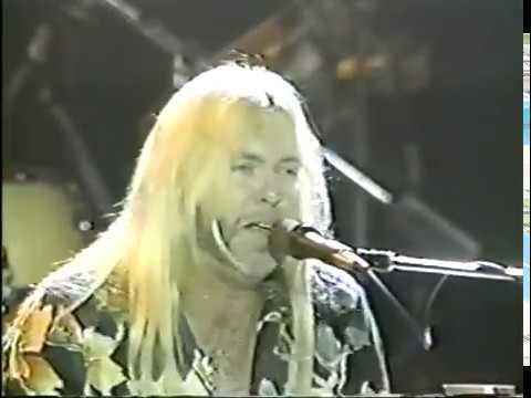 Gregg Allman Band, Daytona, FL 3-25-87.