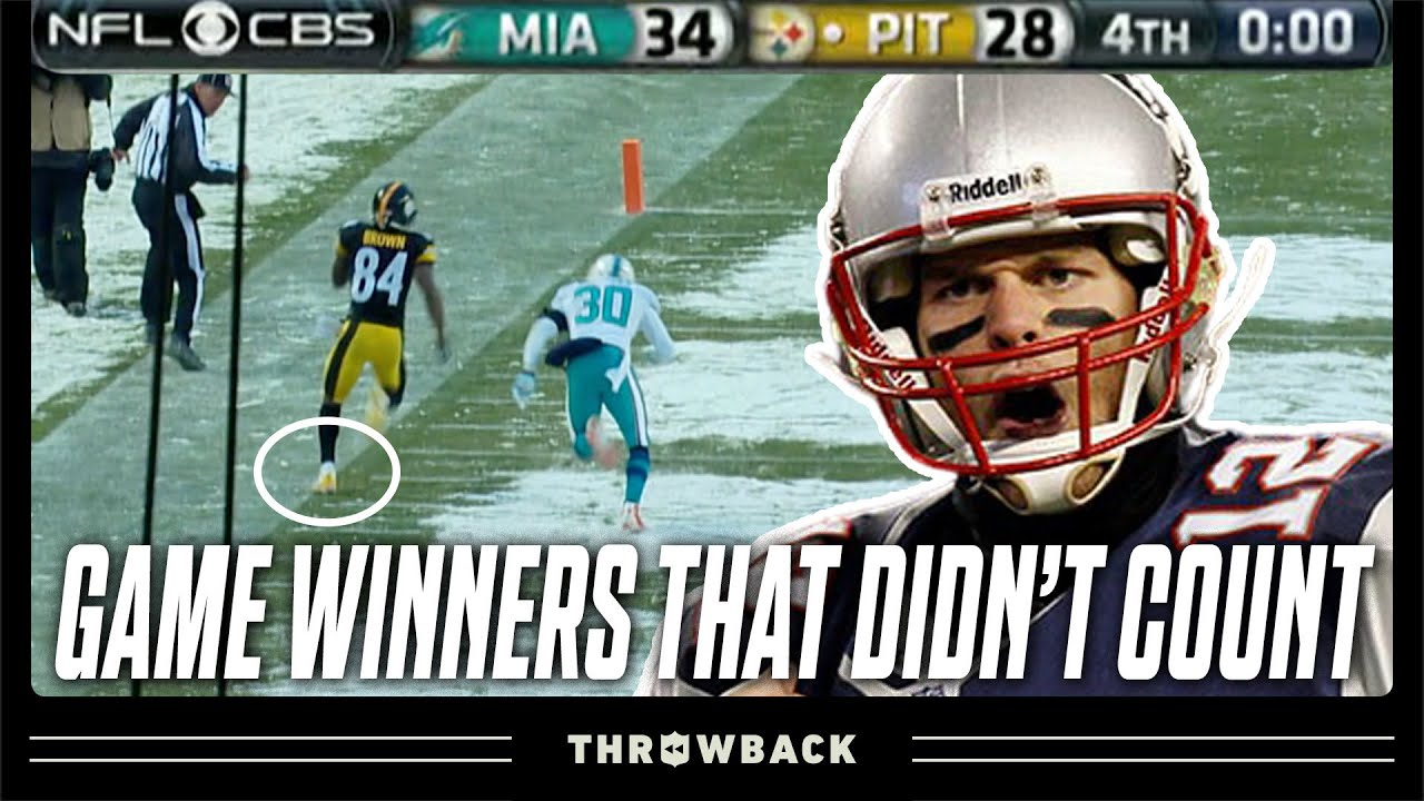 Game-Winning Plays That DIDN'T Count!