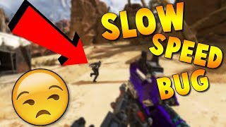 HOW TO FIX The Slow Movement Bug In Apex Legends
