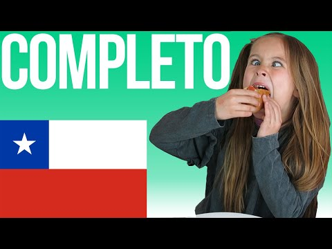 American kids try Completos | Chile