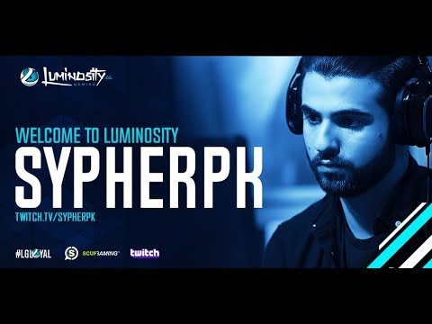Welcome SypherPK to Luminosity Fortnite!