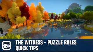 The Witness Tips - Quick Tips