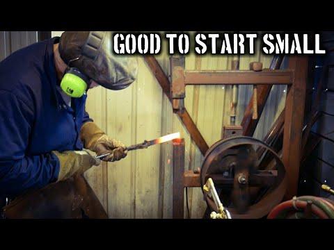 The Benefits of Starting Small (Beginner Blacksmithing TIps)