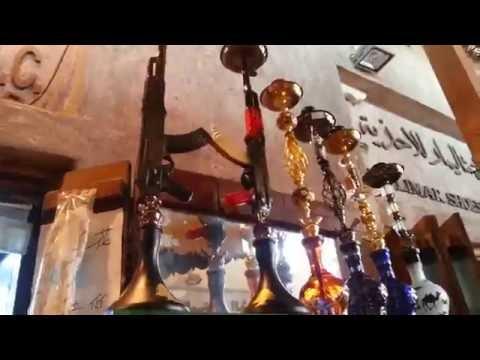 Shisha in Dubai Spice Market.