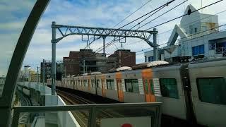 阪神1000系1206F快速急行神戸三宮行き @鳴尾・武庫川女子大前駅通過