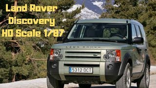 Land Rover Discovery 2 in 1/87 scale. 4d models!