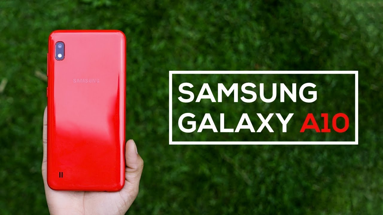 Samsung Galaxy A10 review!