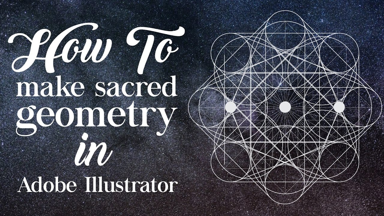 How to make Geometric Shapes in Illustrator (Sacred Geometry)