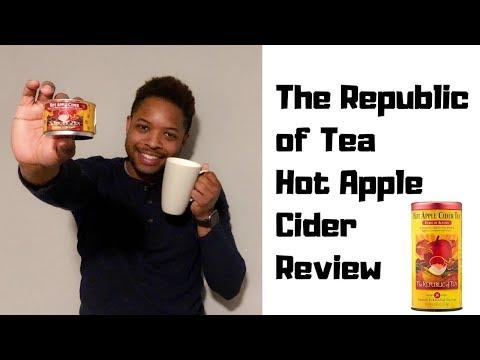The Republic of Tea Hot Apple Cider Review - Limited Edition Fall Seasonal Tea - Autumn Fall Drinks