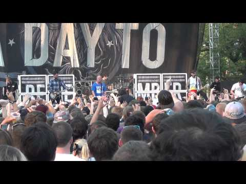 A Day To Remember - Fast Forward To 2012 (live at Riot Fest 2012)