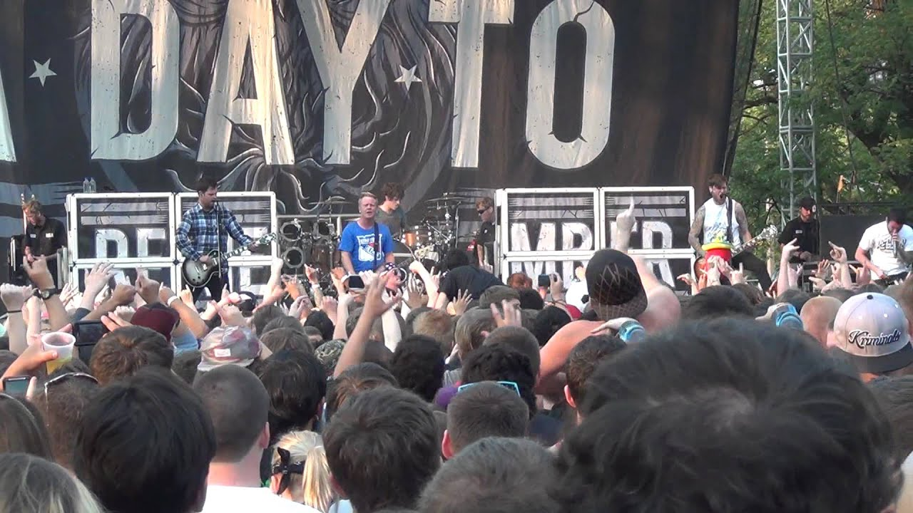 A Day To Remember - Fast Forward To 2012 (live at Riot ... A Day To Remember 2012