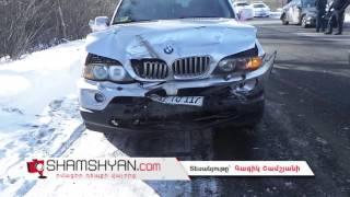 Կոտայքի մարզում բախվել են հարսանքավորների BMW X5 ը, Mercedes ն ու Opel ը
