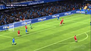 FIFA 14 - Mata Double Header Goals Gameplay