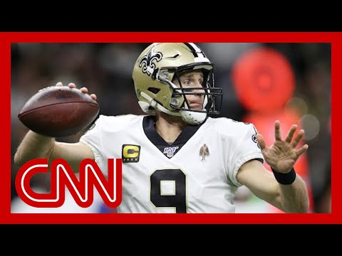 Drew Brees faces backlash for remark about taking a knee during national anthem
