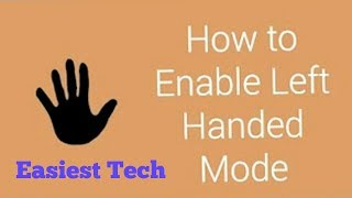 How To Enable Left hand Mood on Android-Android tips-Bangla tutorial-Tech MH Masum