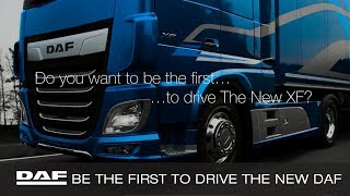 Competition | Be one of the first to drive a New DAF XF