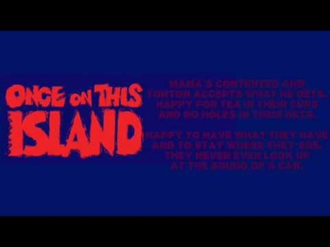 Waiting for Life Karaoke/Instrumental | Once on This Island