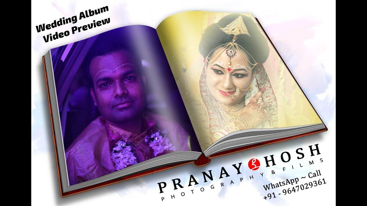 Bengali Wedding Album   Moumita & Anjan   Pranay Ghosh Photography & Films    2018