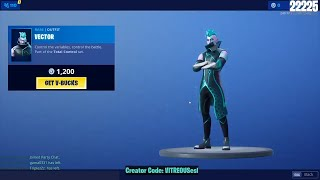 🔴 *NEW* VECTOR Skin - Fortnite Daily Item Shop July 11th