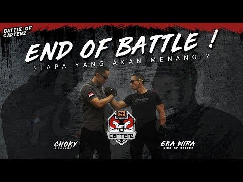 Eka Wira King of Sparko VS Choky Sitohang | BATTLE OF CARTENZ VOL . 4
