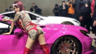 東京オートサロン2018 GS嬢女組降臨 東京オートサロン2018 検索動画 13