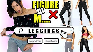 FIGURE DI M.... CON I I LEGGINGS ❌insegreto #95