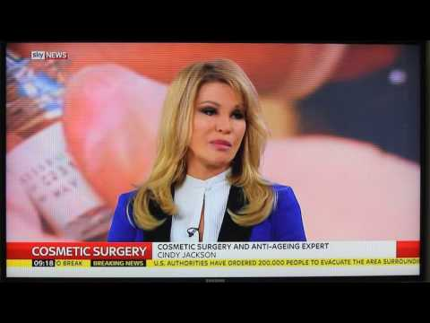 Cindy Jackson Sky News Interview February 2017