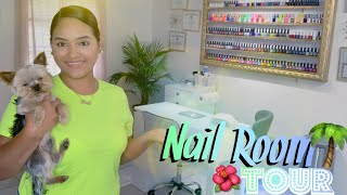 Nail Room Tour   Getnailed32 New Nail Room