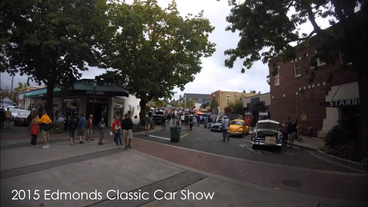 Edmonds Classic Car Show YouTube - Edmonds car show