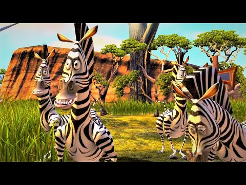 Madagascar Escape 2 Africa 2008 Pc Game 9 Marty S Race Youtube