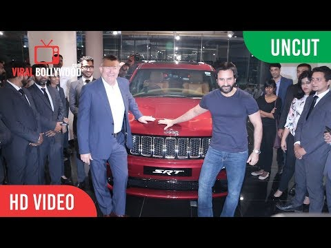 UNCUT - Saif Ali Khan's New Jeep | Grand...