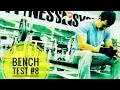 Bench Max Reps Test #8 with 225lbs