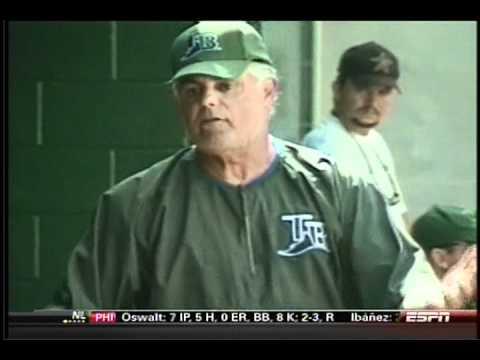 Ronnie And TKras - Lou Piniella Calls Ronnie To Talk Rays Baseball, Charity, & MLB Mega-Money