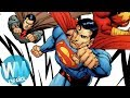 ¡Top 10 Versiones ALTERNATIVAS de SUPERMAN!