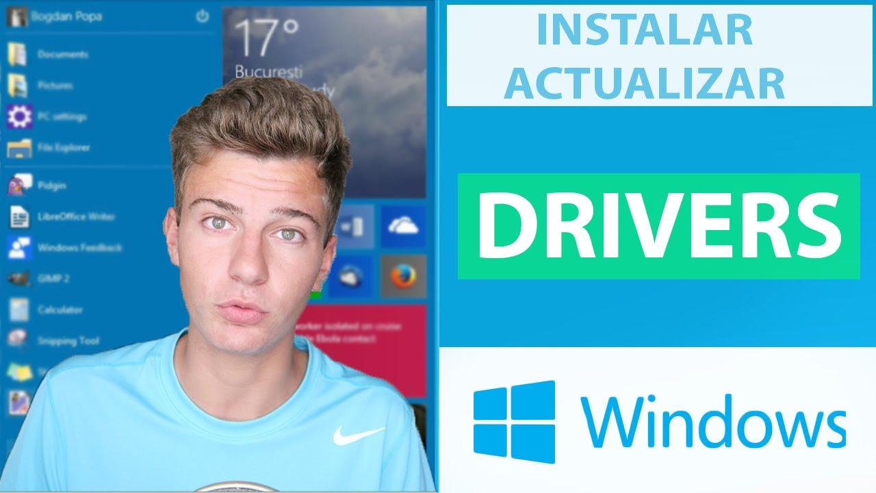 como descargar drivers para mi pc windows 10