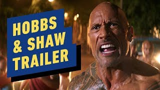 Fast & Furious Presents: Hobbs & Shaw - Trailer 2 (2019) Dwayne Johnson, Jason Statham