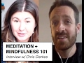 Meditation & Mindfulness 101 || Interview w/ Chris Dierkes || IRENE LYON