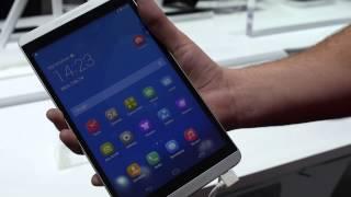 Huawei MediaPad M1 8.0 Tablet (MWC 2014)