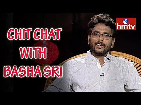 Special Chit Chat With Lyricist Lyricist Basha Sri   Telugu News   hmtv
