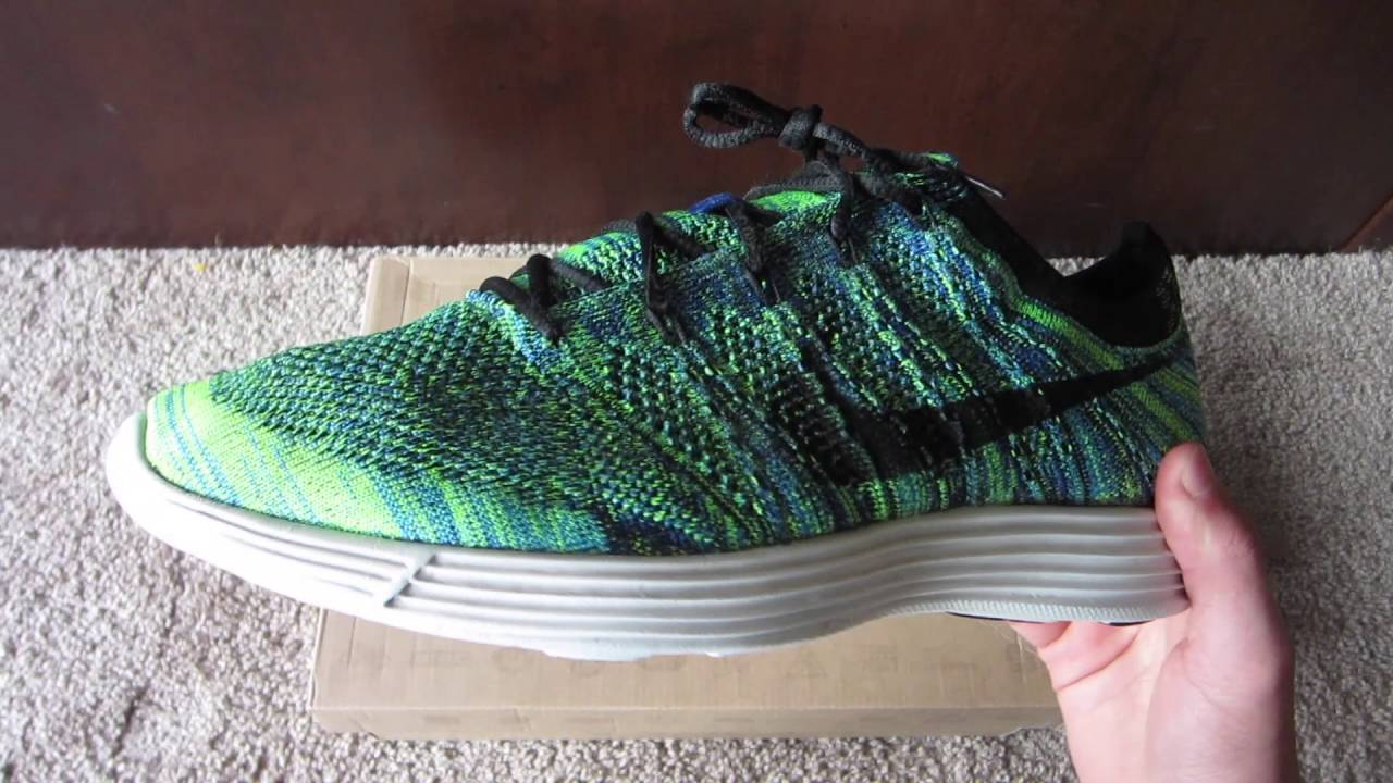 Nike Flyknit Lunar NRG HTM Unboxing | +On Feet