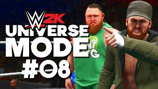 WWE 2K Universe Mode BACKLASH PPV PART 2 4 08