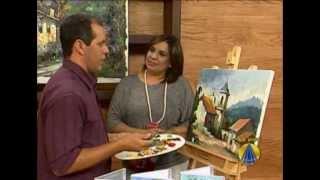 Pintura em Tela-TV Aparecida - Cido Oliveira
