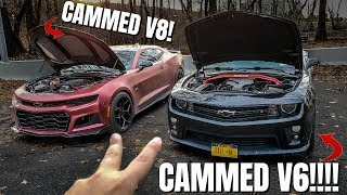 This 2011 CAMMED V6 Camaro Will SHOCK You!! **SOUNDS LIKE A V8**