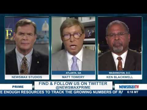 Newsmax Prime | Ken Blackwell and Matt Towery discusses the impact of Syrian refugees