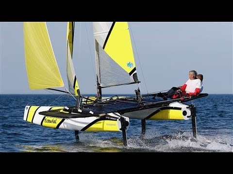 Amateur Sailors Can Now Fly on Water Like America's Cup Skippers