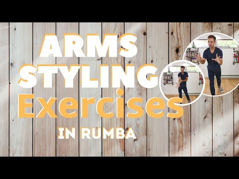 ARMS STYLING EXERCISE IN RUMBA Part 2